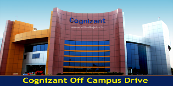 Cognizant Off Campus Drive for Freshers | Arts & Science Graduates | 2019/ 2020 Batch |